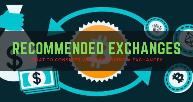 Recommended Exchanges